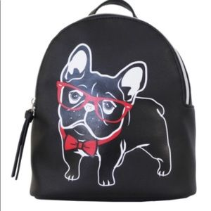 French Bulldog Themed Mini Backpack